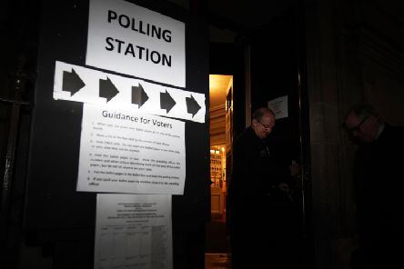 Polling day is underway