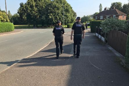 Police are working with CGA staff to reduce problems in Ribbleton