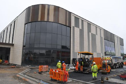The Market Walk shopping centre extension where the bowling and golf facilities will open (Image: JPIMedia)