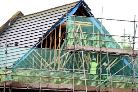 "Housebuilder Prospect Homes blamed ""extreme weather conditions"" for the collapse"