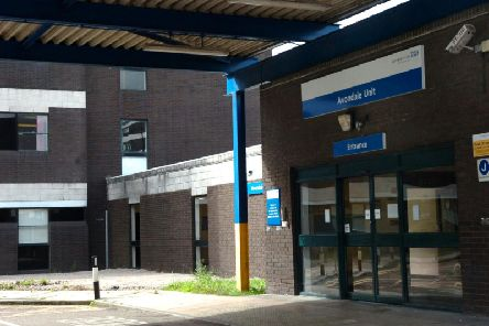The Avondale Unit at the Royal Preston Hospital. Pictured around the time of its closure in 2010.