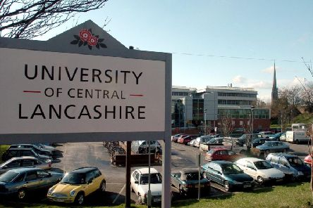 UCLan's Preston campus where a student was diagnosed with meningitis last month,