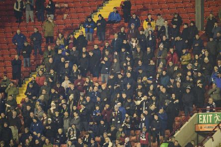 Preston North End fans at Barnsley.