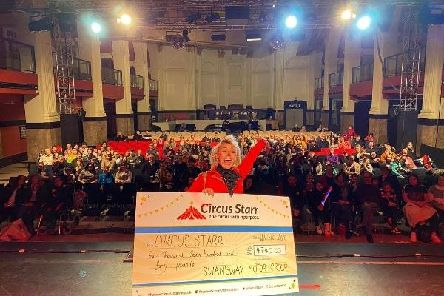 Preston Audi and Volkswagen Van Centre has donated 60,000 to Circus Starr over three years