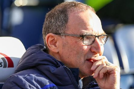 Martin O'Neill looks on during the 0-0 draw at Deepdale on Saturday