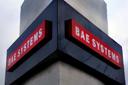 BAE Systems in Warton