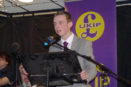 Sebastian Walsh is North West Regional Chairman at UKIP Young Independence in Wigan