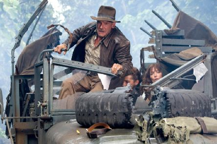 Harrison Ford in Indiana Jones. Photo Credit: David James