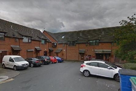 Havelock Court where the asbestos was dumped. Pic: Google Maps