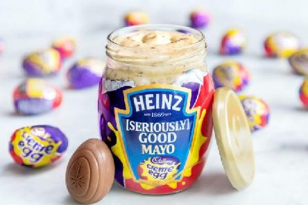 Heinz (Seriously) Good Cadbury Creme Egg Mayo