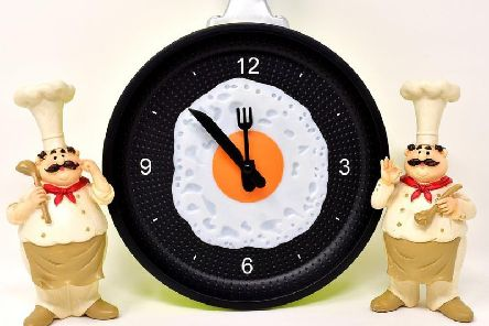 What time can you eat?