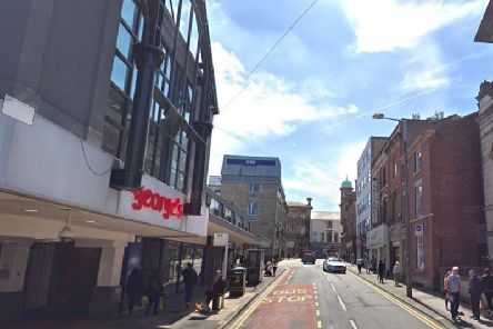 The Lune Street end of the St George's Shopping Centre