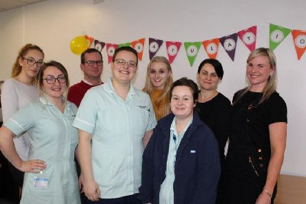 The Victoria Hospitals first nursing associates have started after training at the University of Central Lancashire