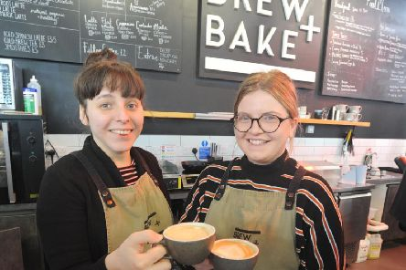 The Brew and Bake cafe in the Market Hall