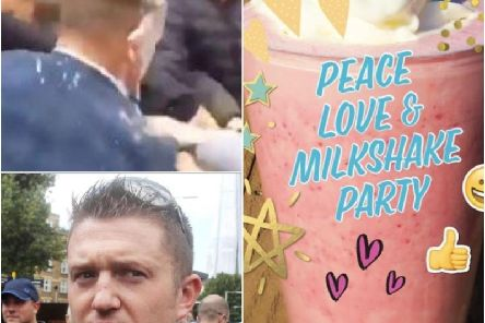 The 'Peace, Love and Milkshake Party' will take place from 6pm on Monday, May 20 in Flag Market during Tommy Robinson's campaign visit to Preston.