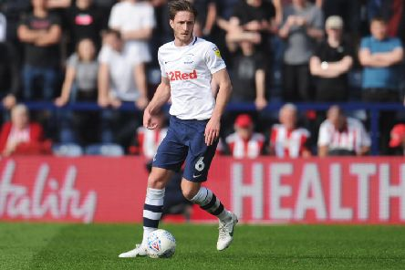 Ben Davies made the most passes, clearances and interceptions in the Preston team this season