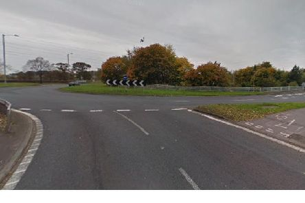 Mohammed ploughed across the roundabout at junction 29