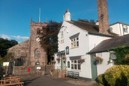 The Cavendish sits proudly next  to Brindle St James church, which dates back to 1190