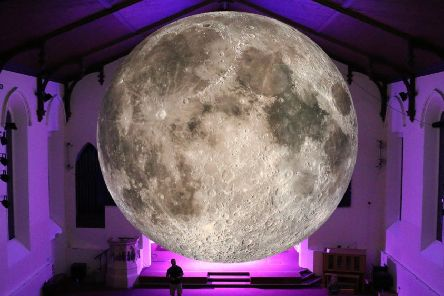 The Moon will be visiting Lancaster Priory in November.