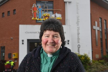 Karen Le Mouton is the newminister ofBamber Bridge Methodist Churchin Station Road.