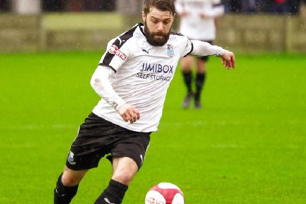 Alistair Waddecar was on target for Brig'Photo: Ruth Hornby