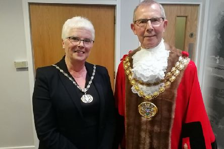 Marion and Cllr Harry Hancock