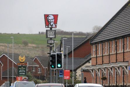 The previous KFC totem in Buckshaw VIllage