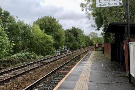 Hall ith Wood station, on the Ribble Valley Line between Clitheroe and Manchester, will be having its platforms extended