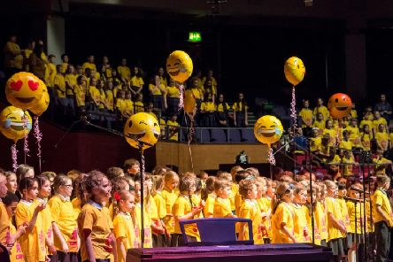Around 400 pupils from 16 schools will be taking part in this year's Emojinal Health Concert on Tuesday night