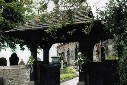 St Anne's church, Woodplumpton where Canon Ron Greenall officiated at the graveside funeral