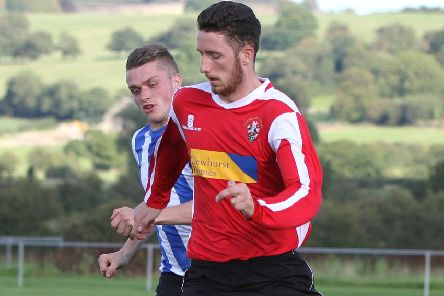 Ryan McKenna opened the scoring for Longridge Town