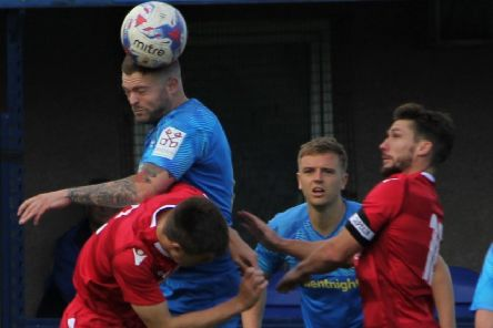 Longridge Town lost on Saturday             Picture: Peter Naylor