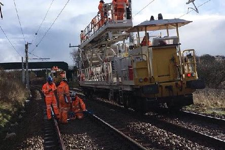 Upgrade works on the Preston to Manchester route have been delayed, Network Rail has announced