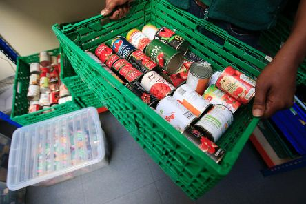 Trussell Trust handed out 23,960 emergency three-day food packages at food banks in Lancashire last year