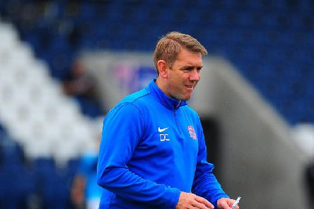 Dave Challinor took positives from Fylde's defeat to Blackpool