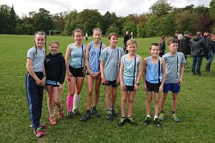 MAC Juniors prepare for Derbyshire Athletic Mini League action at Tupton.