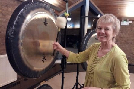 Margit McIntosh, gong bath practitioner