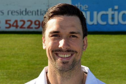 Derbyshire County Cricket Club, pictured is Billy Godleman