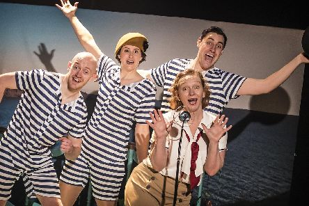 Comedy thriller  - Crimes on the Coast at the Wakefield Theatre Royal from Tuesday. Photo: Pamela Raith.