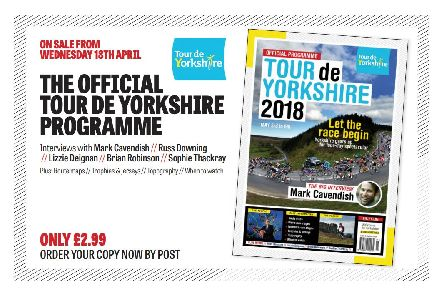 Priced at 2.99, the programme is on sale from shops along the route, and can also be ordered NOWfor just 4.50,including postage and packing.