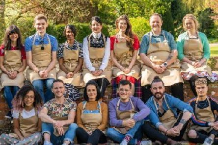 The new Bake Off contestants. Credit: Channel 4.
