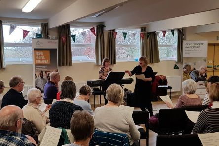 Singers unleash their inner Beatle at free silver session