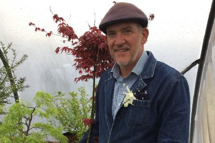 Sean Murray, who won the Great Chelsea Garden Challenge. Picture by Tom Pattinson.