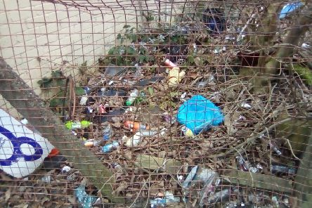 Discarded litter sparks fury among residents
