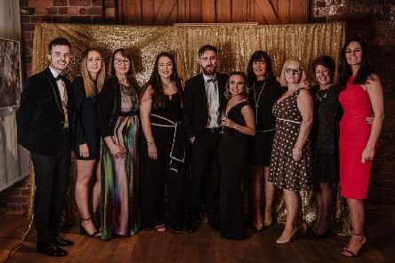 Some of the guests at the charity ball to help raise funds for St Thomas More RC Academy pupils to visit Lourdes in France. Picture by Laura Hetherington/Willow & Hare