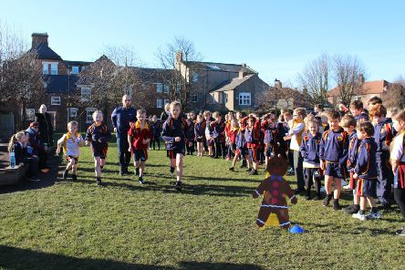 Kings Priory School held a Gingerbread Run as part of the fundraising activities for Fairtrade.