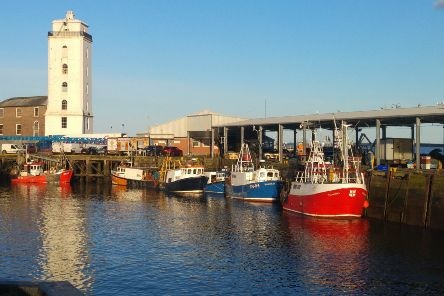 Evening light at the fish quay in North Shields. Picture by Jane Coltman