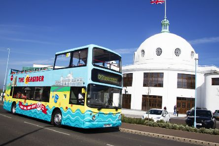 Stagecoach North East's coastal open top service, the Seasider, running this Spring and Summer. Picture by James Oxborough.