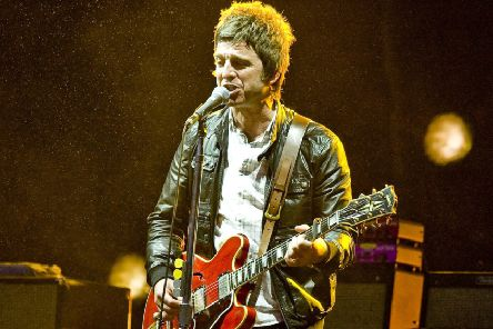 Former Oasis star Noel Gallagher.