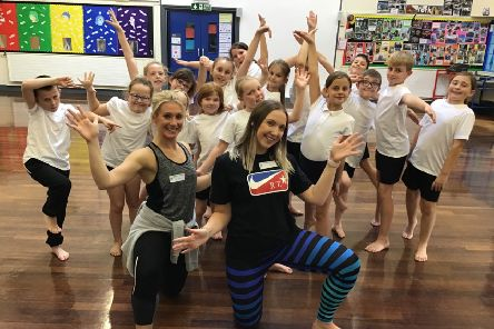 Eastlea Primary School, in Cramlington, has added dance lessons to its curriculum.